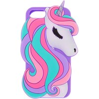 Claire's Glitter Unicorn Silicone Phone Case - Fits Iphone 6/7/8 - Glitter Gifts