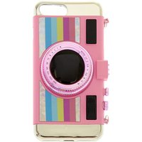 Claire's Pink Retro Camera Phone Case - Phone Gifts