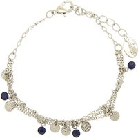 Claire's Silver Filigree Stone Chain Bracelet - Silver Gifts