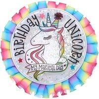 Claire's My Magical Day Birthday Unicorn Button - Rainbow - Rainbow Gifts