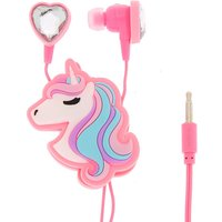 Claire's Miss Glitter The Unicorn Heart Earbuds & Winder - Glitter Gifts