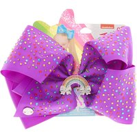 Claire's Jojo Siwa™ Large Glitterally Lilac Hair Bow - Lilac Gifts