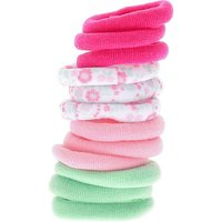 Claire's Kids Pink & Mint Soft Hair Bobbles - Mint Gifts