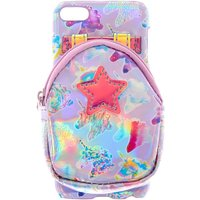 Claire's Holographic Unicorn Ipod Touch 5/6 Case With Earbuds Case - Purple - Ipod Gifts