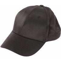 Claire's Black Satin Baseball Cap - Baseball Gifts