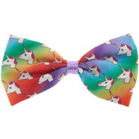 Claire's Rainbow Unicorn Hair Bow Clip - Hair Gifts