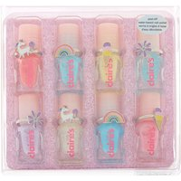 Claire's Club Unicorn Nail Polish Set - 8 Pack - Nail Polish Gifts