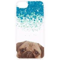 Claire's Glitter Pug Phone Case - Fits Iphone 6/7/8 - Glitter Gifts