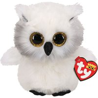 Claire's Ty Beanie Boo Small Austin The Owl Soft Toy - Toy Gifts