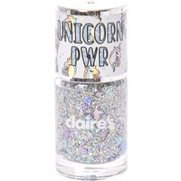 Claire's Unicorn Pwr Holographic Chunky Silver Glitter Nail Polish - Nail Polish Gifts