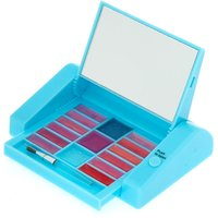 Claire's Miss Glitter The Unicorn Mechanical Lip Gloss Set - Turquoise - Turquoise Gifts