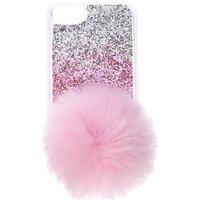Claire's Pink Ombre With Pom Pom Tail Phone Case - Phone Gifts