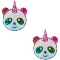 Claire's Rainbow Panda Unicorn Stud Earrings - Panda Gifts
