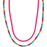 Claire's Club Rainbow Coil Necklaces - 2 Pack - Necklaces Gifts