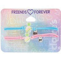 Claire's Pastel Pineapple Stretch Friendship Bracelets - 2 Pack - Friendship Gifts