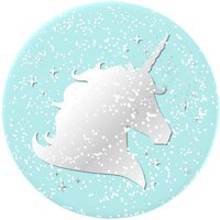 Claire's Popsockets Swappable Popgrip - Mint Unicorn - Mint Gifts