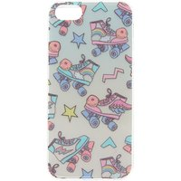Claire's Retro Holographic Roller Blades Phone Case - Fits Iphone 5/5S/se - Retro Gifts