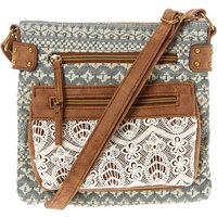 Claire's Aztec Country Crochet Midi Crossbody Bag - Country Gifts