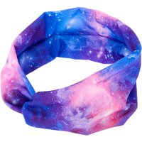 Claire's Space Galaxy Wide Jersey Headwrap - Purple - Claires Gifts