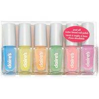 Claire's Rainbow Nail Polish Set - 6 Pack - Nail Polish Gifts