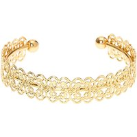 Claire's Gold Filigree Cuff Bracelet - Fashion Gifts