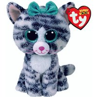 Claire's Ty Beanie Boo Small Quinn The Cat Soft Toy - Beanie Gifts