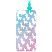 Claire's No Drama Llama Ombre Popover Phone Case - Fits Iphone 6/7/8 - Drama Gifts