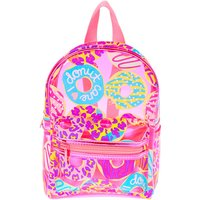 Claire's Neon Animal Donut Print Small Backpack - Pink - Backpack Gifts
