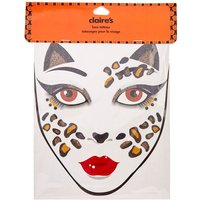 Claire's Leopard Face Tattoos - Tattoos Gifts