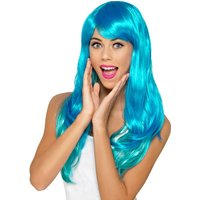 Claire's Turquoise Ombre Wig - Turquoise Gifts