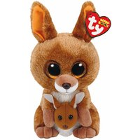 Claire's Ty Beanie Boo Medium Kipper The Kangaroo Soft Toy - Kangaroo Gifts