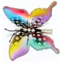 Claire's Rainbow Butterfly Hair Clip - Hair Gifts