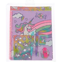 Claire's Miss Glitter The Unicorn Rainbow Stationery Set - Stationery Gifts