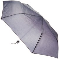 Claire's Plain Black Compact Umbrella - Umbrella Gifts