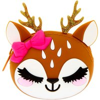 Claire's Ginger The Deer Jelly Coin Purse - Brown - Purse Gifts