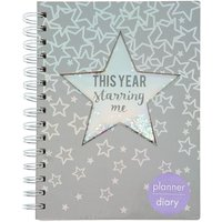 Claire's Holographic Star Diary - Diary Gifts