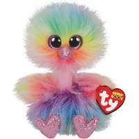 Claire's Ty Beanie Boo Small Asha The Ostrich Soft Toy - Beanie Gifts