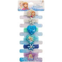 Claire's Disney Frozen Glitter Hair Bands - 6 Pack - Bands Gifts