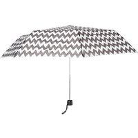 Claire's Black & White Chevron Umbrella - Umbrella Gifts