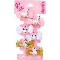 Claire's Club Ariella The Unicorn Hair Clips - 6 Pack - Hair Gifts