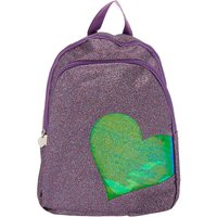 Claire's Glitter Functional Backpack - Purple - Backpack Gifts