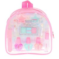 Claire's Club Pastel Glitter Backpack Makeup Set - Backpack Gifts