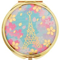 Claire's Eiffel Tower Floral Compact Mirror - Mirror Gifts