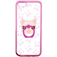 Claire's Pink Cat Ring Grip Phone Case - Phone Case Gifts