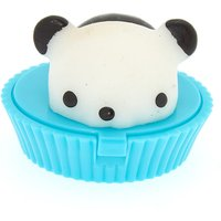 Claire's Gummy Panda Lip Gloss Pot - Turquoise - Turquoise Gifts