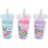 Claire's Slushie Sweets Lip Balm Set - 3 Pack - Lip Balm Gifts