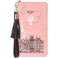 Claire's Je T'aime Paris Pink Tassel Wristlet - Paris Gifts