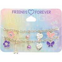 Claire's Paris In Spring Charm Friendship Bracelets - 2 Pack - Paris Gifts