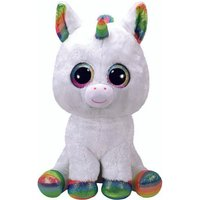 Claire's Ty Beanie Boo Large Pixy The Unicorn Soft Toy - Soft Gifts