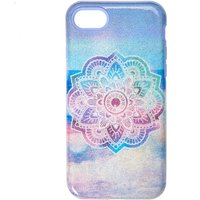 Claire's Pastel Shimmer Mandala Protective Phone Case - Phone Gifts